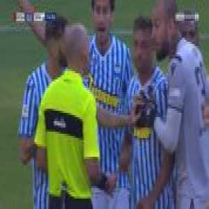 Vanja Milinkovic-Savic (Spal) 2 yellow cards in a row against Roma 75'