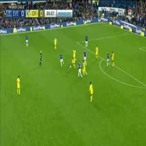 Everton 1-0 Crystal Palace - Calvert-Lewin 87'