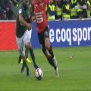 Hatem Ben Arfa (Rennes) penalty miss against Saint-Etienne 66'
