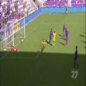 Orlando City 0-1 Columbus Crew - Federico Higuain free-kick 54'