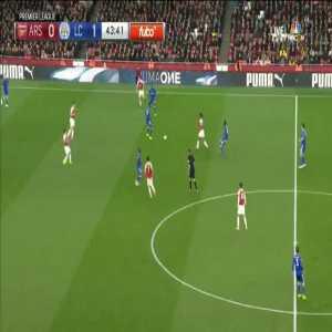 Arsenal [1]-1 Leicester City - Özil 45'