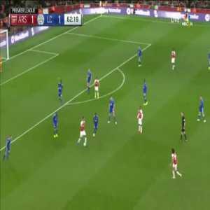 Arsenal [2]-1 Leicester City - Aubameyang 63'