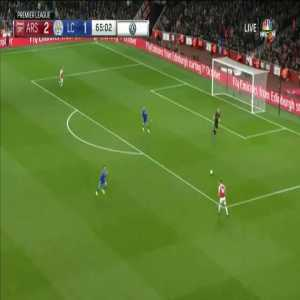 Arsenal [3]-1 Leicester City - Aubameyang (23 Oct 2018)