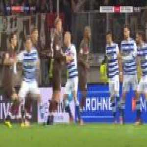 Duisburg 0-1 St. Pauli - Sami Allagui 84'