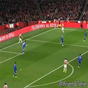 Iwobi skill vs Leicester