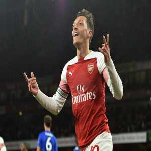 Mesut Özil is now the highest scoring German in Premier League history.