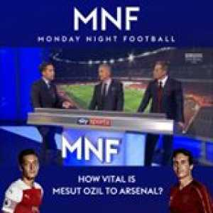 Carragher and Souness on Ozil- Souness almost forgets to criticize Pogba