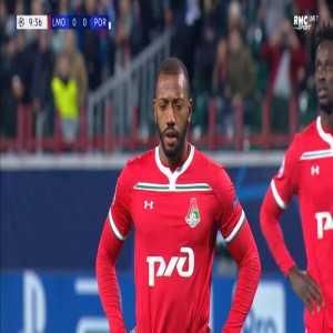 Iker Casillas penalty save against Lokomotiv Moscow 10'