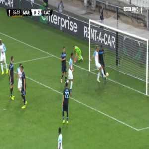 Marseille [1]-2 Lazio - Dimitri Payet free-kick 86'