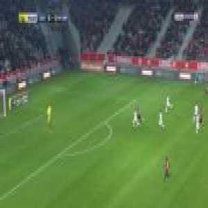 Lille 1-0 Caen - Rafael Leao 56'