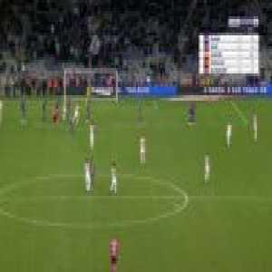 Toulouse 0-3 Montpellier - Solomon Sambia free-kick 90'+3'
