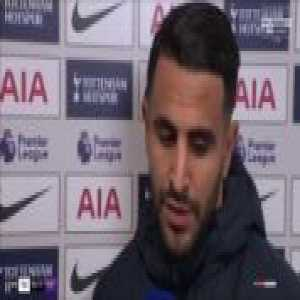 Riyad Mahrez's emotional post-match interview after Man City's 1-0 win over Tottenham last night