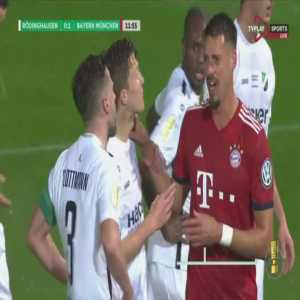 Rödinghausen 0-2 Bayern - Thomas Muller penalty 13'