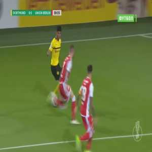 Dortmund 1-0 Union Berlin - Christian Pulisic 40'