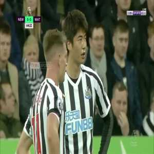 Ayoze Pérez goal (Newcastle [1]-0 Watford) 65'