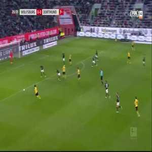 M. Reus goal (Wolfsburg 0-[1] Dortmund) 26'