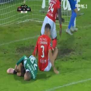 Santa Clara 1-[1] Sporting - Bas Dost penalty 62'