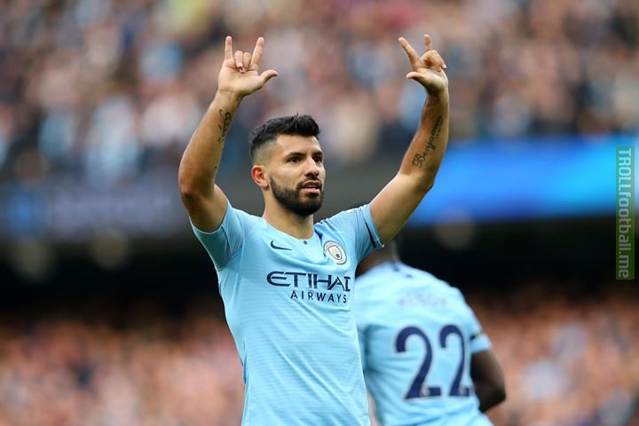 👏👏👏 to Sergio Aguero as he becomes the 9th player in Premier League history to reach 150 goals