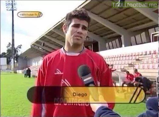 Diego Costa, age 11.