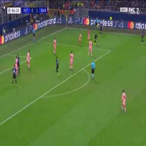 M. Icardi goal (Inter [1]-1 Barcelona) 86'