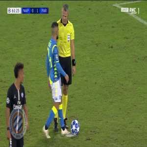 Napoli [1]-1 PSG : Insigne penalty 62' + call