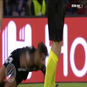 PSG penalty shout vs Napoli