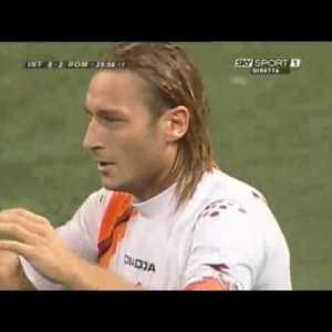 Totti - Roma v Inter. 13 years ago today, and still one of the greatest individual goals ever