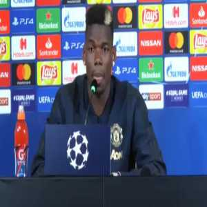 "[Video] Pogba on Cristiano: ""It is a great thing for Juventus to have a player who scores as easily as he drinks water"""
