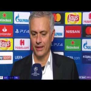 Jose Mourinho's post match interview - Juventus 1-2 Manchester United