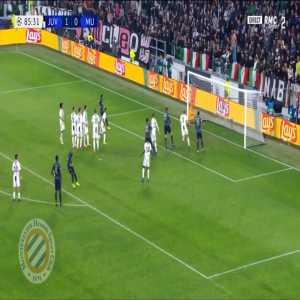 Juventus 1-[1] Manchester United : Mata freekick 86'