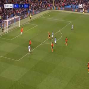 Manchester City 5-0 Shakhtar - Riyad Mahrez 84'