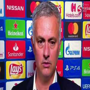 Reporter: When you went out and celebrated, Juventus players were very upset. Mourinho: You understand Italian? Reporter: Er... no. Mourinho: So, ask the FA to translate for you. (laughs)