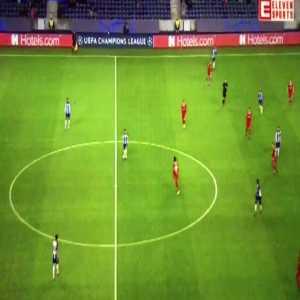 Óliver Torres amazing pass vs Lokomotiv
