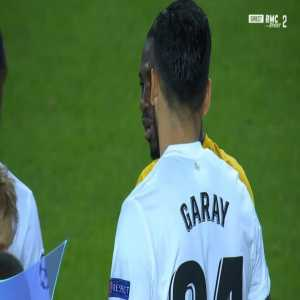 Sekou Sanogo (Young Boys) straight red card against Valencia 77'