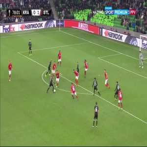 Magomed Suleymanov 79' - FC Krasnodar [1]:1 Standard Liège