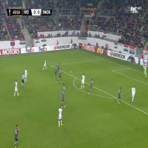 MOL Vidi 1-0 PAOK - Georgi Milanov 50'