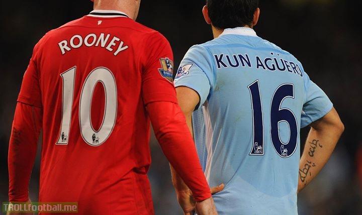 Premier League goals:  208 - Wayne Rooney 150 - Sergio Aguero  Will Aguero overtake Rooney? 🤔
