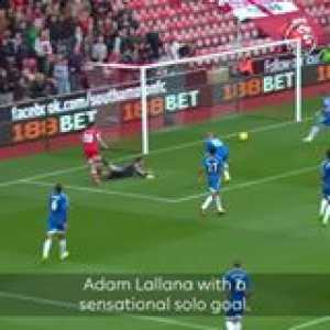 Adam Lallana's sensational solo goal helped Southampton FC beat Hull 4-1 OnThisDay in 2013...