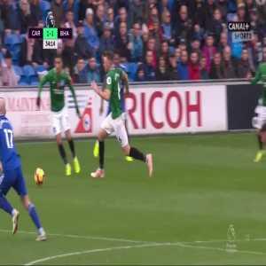 Dale Stephens (Brighton) red card vs. Cardiff