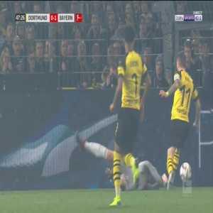 Dortmund [1]-1 Bayern - Marco Reus penalty 49' (+ call)
