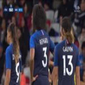 France W 2-0 Brazil W - Elise Bussaglia free-kick 47'