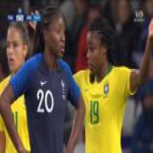 France W 3-0 Brazil W - Wendie Renard 75'