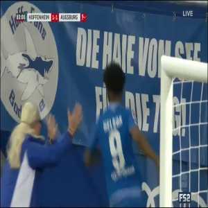 Hoffenheim [2]-1 Augsburg - Reiss Nelson 83'