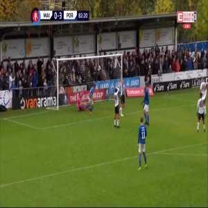 Maidenhead United 0:[4] Portsmouth - David Wheeler 83' (FA Cup, 1st round)