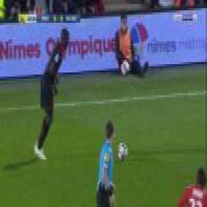 Nimes 0-1 Nice - Youcef Attal 61'