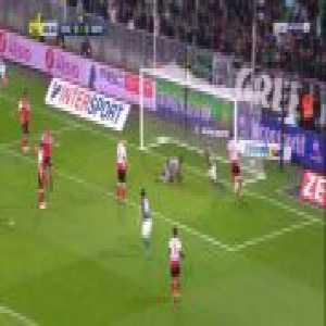 Saint-Etienne 1-0 Reims - Mathieu Debuchy 1'