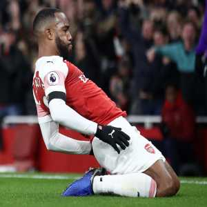 Alexandre Lacazette has been directly involved in 19 goals in his 21 starts at the Emirates in all competitions for Arsenal (15 goals, 4 assists).