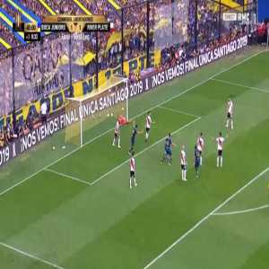 Boca Juniors [2]-1 River Plate - Dario Benedetto 45'+1'
