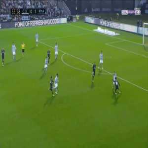 Celta Vigo 0-2 Real Madrid - Gustavo Daniel Cabral OG 56'