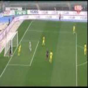 Chievo 0-1 Bologna - Federico Santander 4'